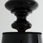 Amber - čierna