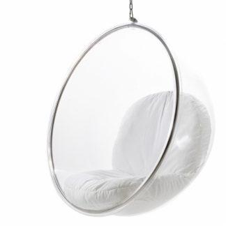 Bubble Chair 113 - priehľadná