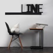 Line Wall L - grafit