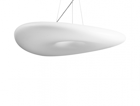 Momo - plafon - biely satén