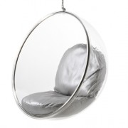 Poducha do Bubble Chair - striebro