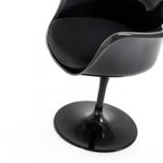 Tulipan Armchair - čierna