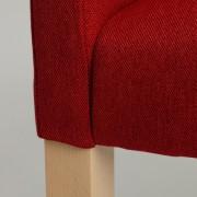 Wilton Arms 84 - krvavo červená, prírodná