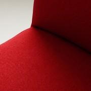 Wilton Chair - krvavo červená, prírodná