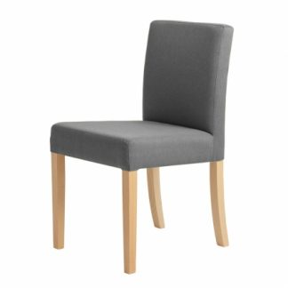 Wilton Chair - oceľ, prírodná