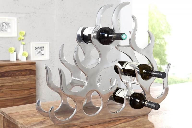 Alu Regál na víno Flame 60cm für 10 Flaschen