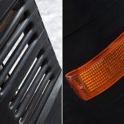 Bar LKW Front čierna inkl. Licht links