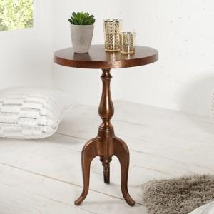 Barock stôl Jardin 55cm meď rund