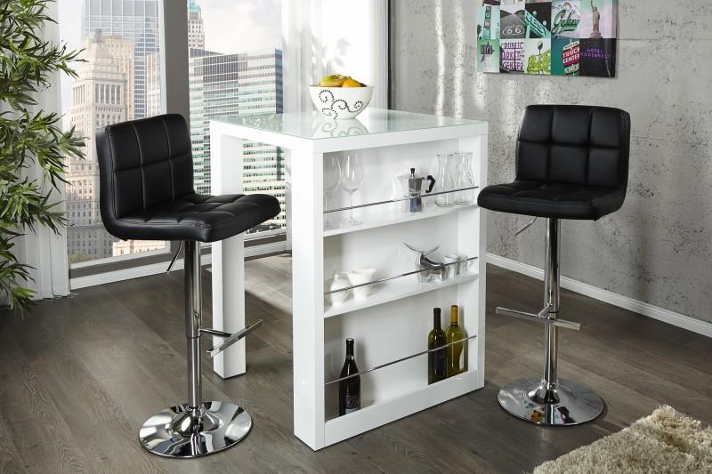 Barová stolička Easy biela