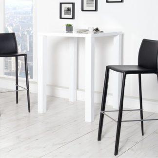 Barová stolička Milano - Leder čierna