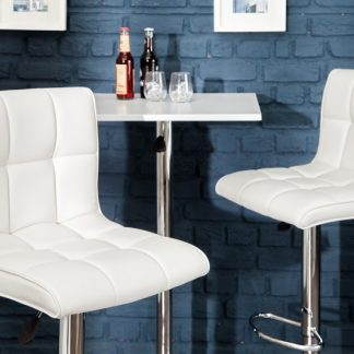 Barová stolička Modena 90-115cm biela