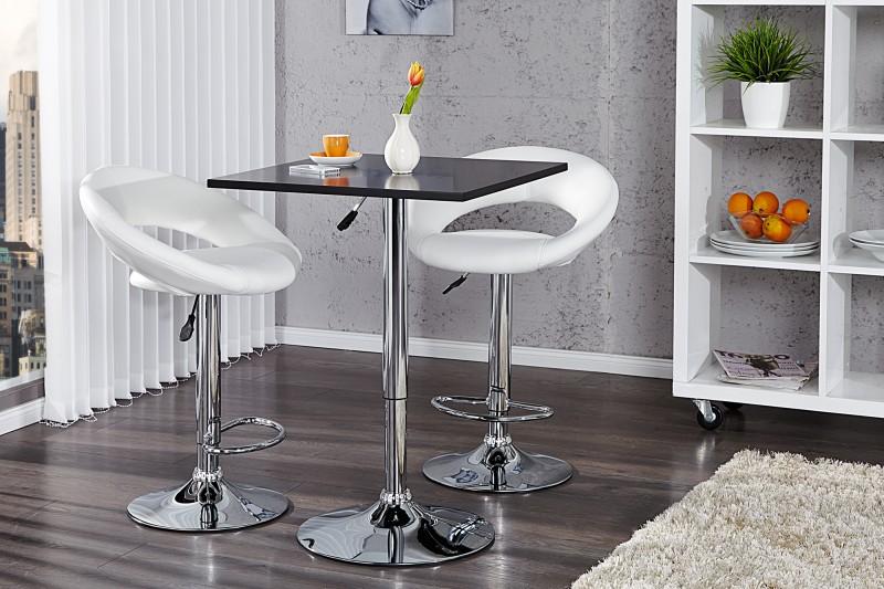 Barová stolička Move čierna höhenverstellbar