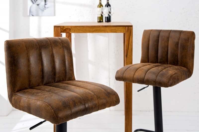 Barová stolička Portland 90-110cm coffee