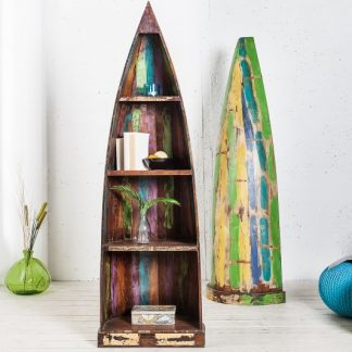 Bootsregal Borneo 190cm recyklované drevo
