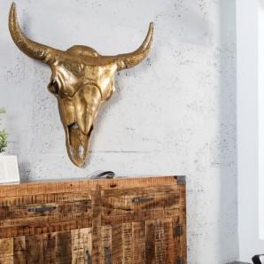 Deko Lebka Matador 95cm zlatá