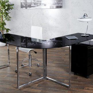 Eck-Písací stôl Big Deal čierna