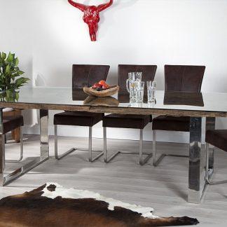 Jedálenský stôl Barracuda / sklo 200cm