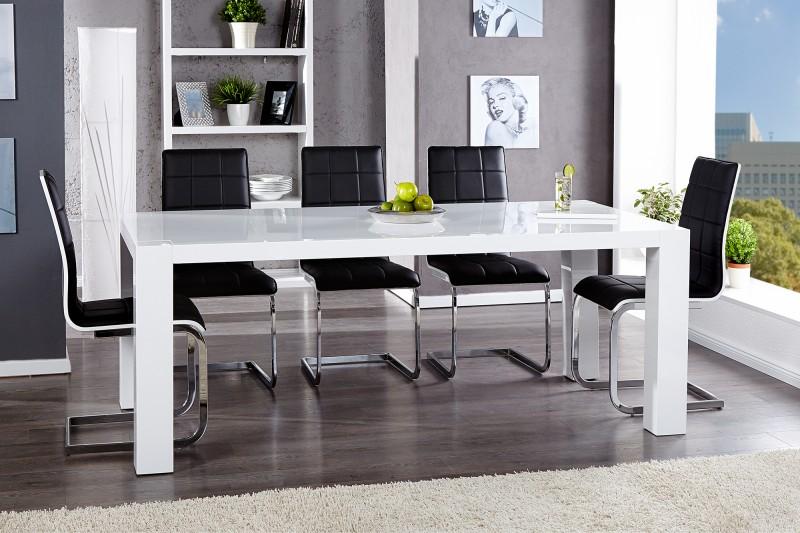 Jedálenský stôl Big Blanc biela 200cm