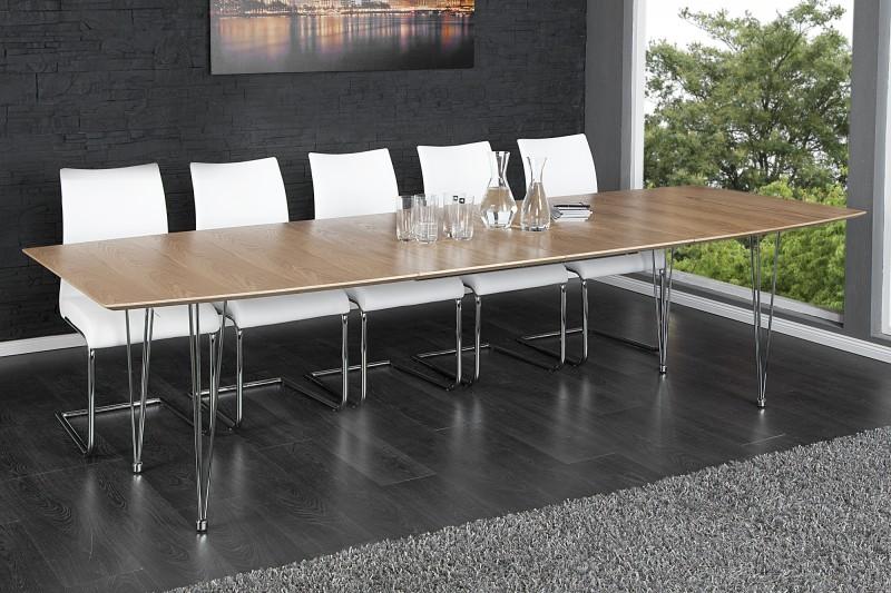 Jedálenský stôl Continental dub 170-270cm