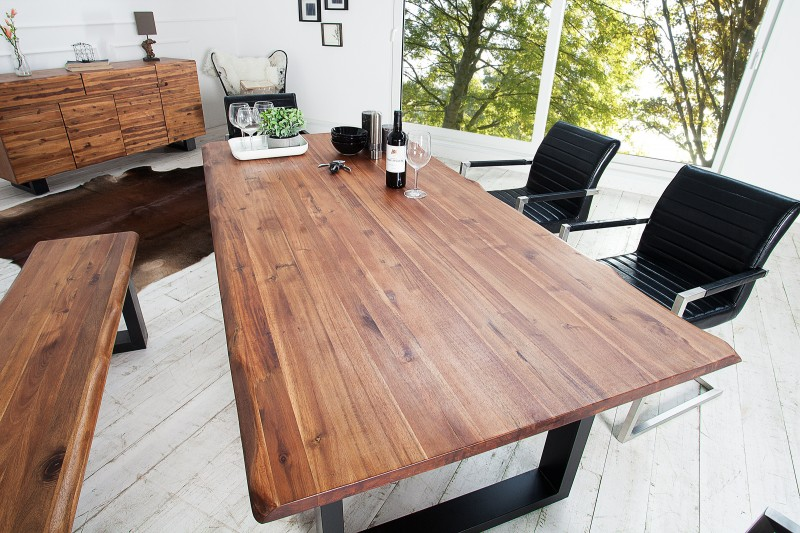 Jedálenský stôl Genesis 180cm m. Kufengestell