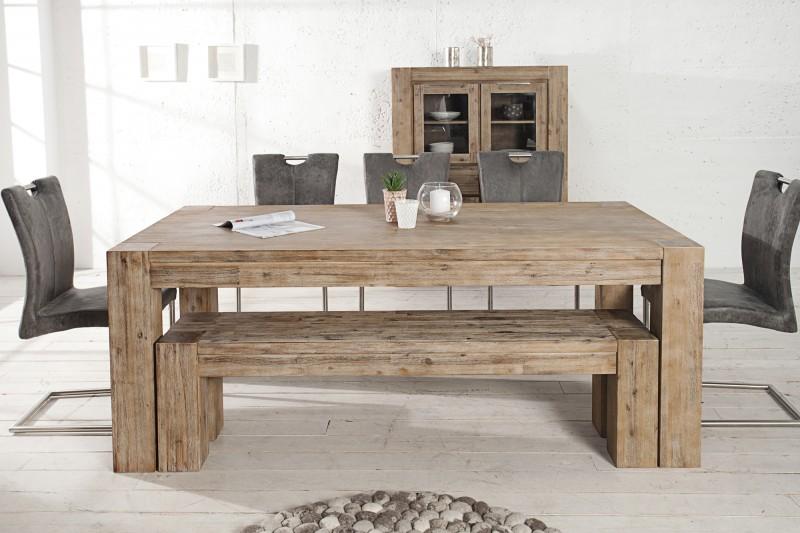Jedálenský stôl Giant 200-300cm agát teakgr.gek.