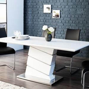 Jedálenský stôl Ice 180cm biela