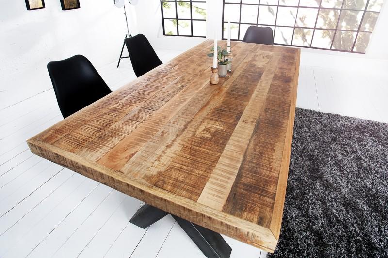 Jedálenský stôl Iron Craft 200cm Mango