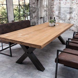 Jedálenský stôl Iron Craft 200cm dub