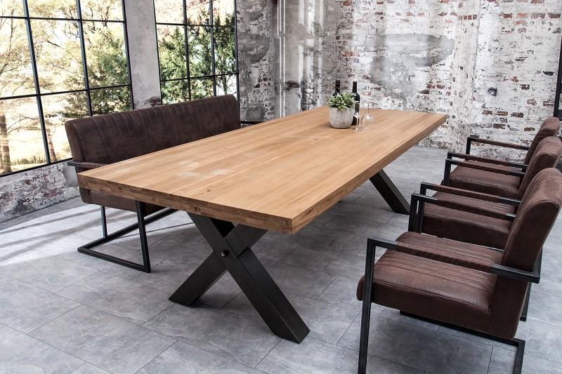 Jedálenský stôl Iron Craft 240cm dub