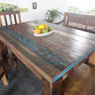 Jedálenský stôl Jakarta 120cm - recyklované drevo