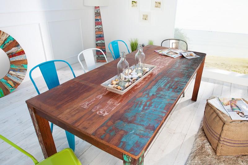 Jedálenský stôl Jakarta II 180cm - recyklované drevo