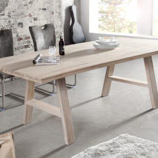 Jedálenský stôl Loft 200cm divý dub vápnené