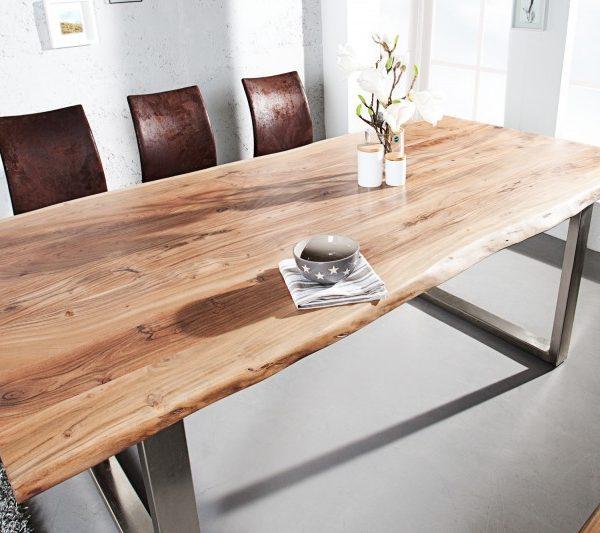 Jedálenský stôl Mammut 200cm agát 26mm