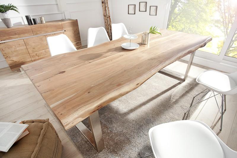 Jedálenský stôl Mammut 220cm agát 60mm Kufe