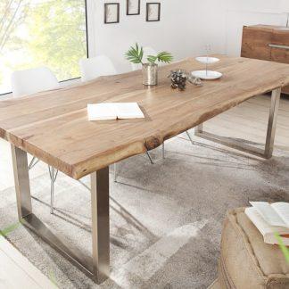 Jedálenský stôl Mammut 220cm agát 60mm Trapez
