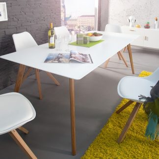 Jedálenský stôl Scandinavia 160cm biela
