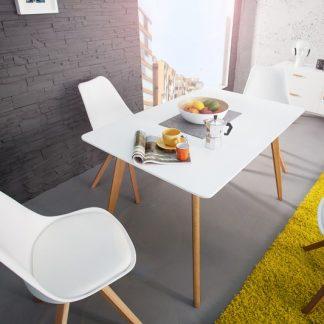 Jedálenský stôl Scania  120cm biela