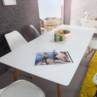 Jedálenský stôl Scania  200cm biela