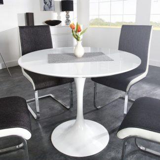 Jedálenský stôl Signum 90cm biela