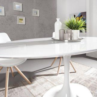 Jedálenský stôl Signum biela 160cm
