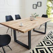 Jedálenský stôl Wotan 160cm dub olejované Industrial
