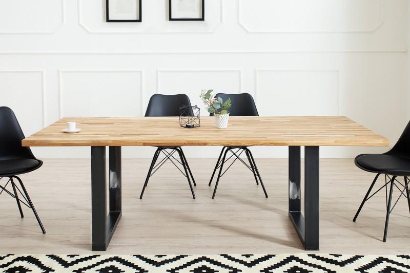 Jedálenský stôl Wotan 180cm dub Industrial
