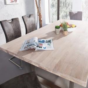 Jedálenský stôl Wotan 180cm dub vápnené