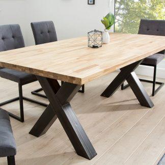 Jedálenský stôl Wotan X 200cm dub Industrial