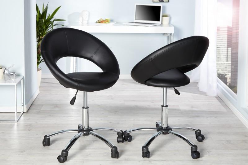 Kancelárska stolička Senna čierna