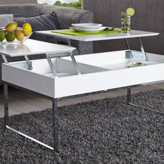 Konferenčný stolík Celinda biela
