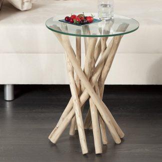 Konferenčný stolík Driftwood - naplavené drevo