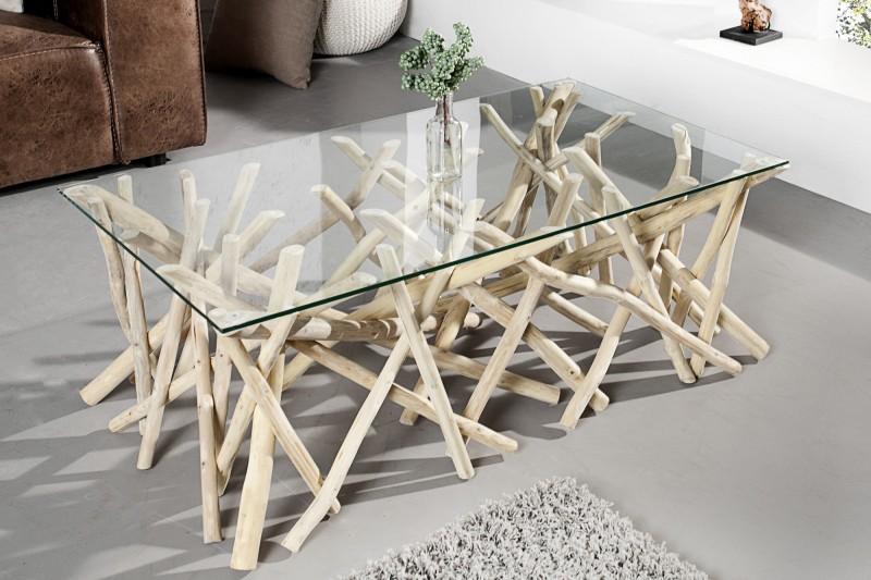 stolík Driftwood 110cm - naplavené drevo