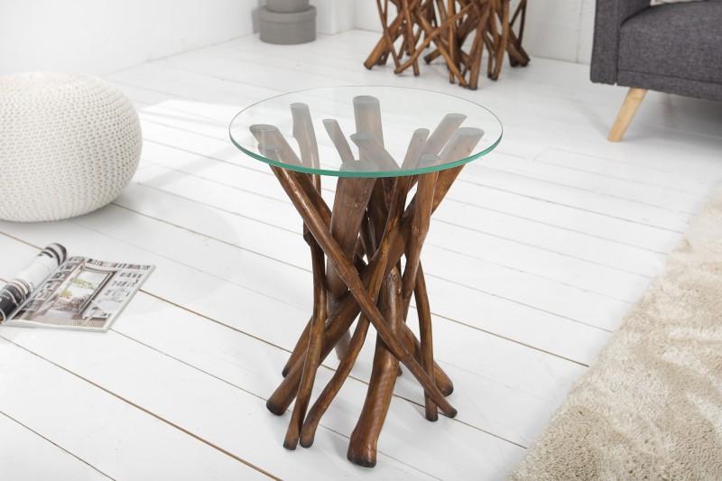 Konferenčný stolík Driftwood Treibh. 40cm hnedá