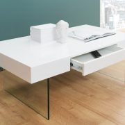 Konferenčný stolík Floating 110cm biela